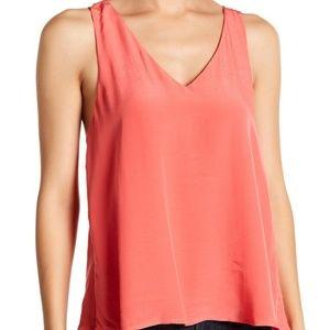 Elodie Crossback Flutter Top NWT Size M Orange